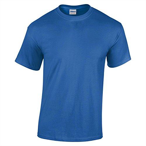 Gildan Heavy Cotton Youth T-Shirt- Royal - XL
