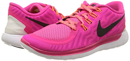 Nike Womens Free 5.0 Running Shoe #724383-600 (6.5)