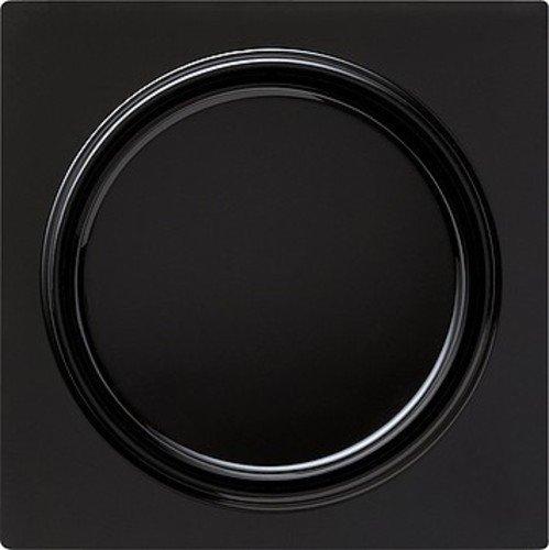 Gira afdekking 029647 + wip wissel S-Color zwart