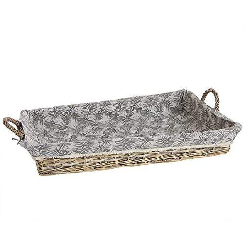 DCASA gevlochten strijkplank voor het opbergen en organiseren van wasgoed, artikelen voor thuis, unisex, volwassenen, meerkleurig (meerkleurig), eenheidsmaat