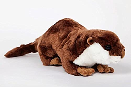 River Otter Stuffed Plush Animal - Cabin Critters North American Wildlife Collection by Cabin Critters