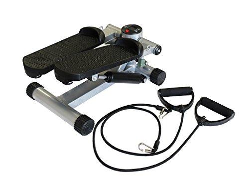 Aerobic Stepper con Expander e computer per allenamento Swing-Stepper