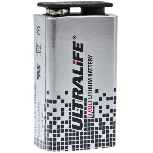 Ultralife U9VL 9 Volt Lithium Block Batterie 6AM6 9,0 Volt 1200mAh - 1 Stück