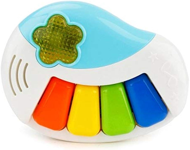 Baby Kids Musical Lighting Educationa Carton Piano Developmental Music Toy Z1024   BU