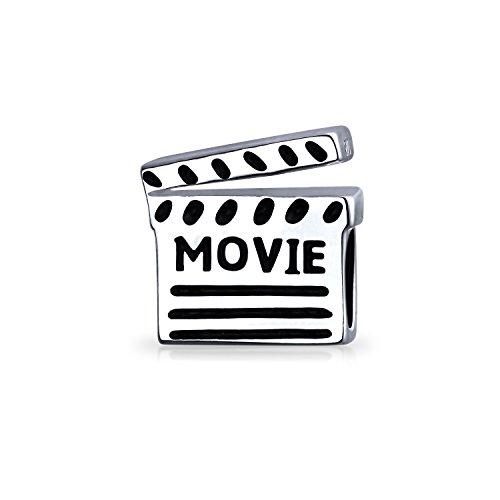 Theater Lover Movies Regisseur Action Movie Schindel Charm Bead für Frauen für Teenager passt europäisches Armband .925 Sterling Silber