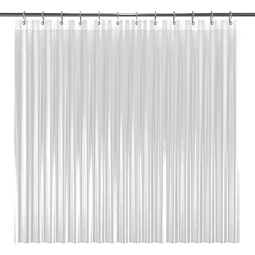 RHGEIUCY Partitioning Bath Curtain Bathroom Simple Crop Bath Toilet Curtain