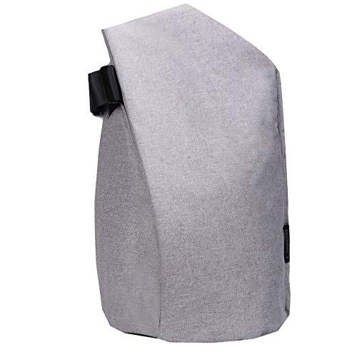 Msbir Double-Shoulder Bag Computer Bag Notebook Backpack Anti-Theft Travel Backpack Bag Gifts 15 Inch Light Grey zaino da viaggio antifurto donna borsone zaino da viaggio zaino antifurto donna zaino