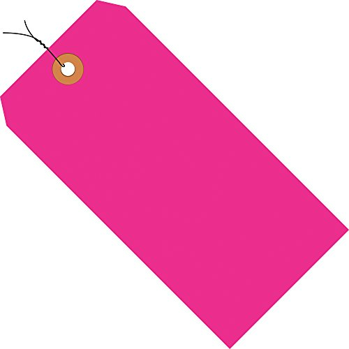 Aviditi Pre Wired Shipping Blank Tag, 13 Point Cardstock, 4-3/4