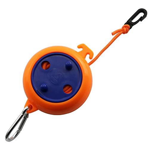 Longdex 8M Retractable Clothesline Portable Windproof Adjustable Box Type Rope for TravelCampingHotelOutdoorIndoor Supplies