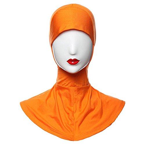 Weixinbuy Muslim Under Scarf Cap Hijab Islamic Neck Cover Head Wear Cap