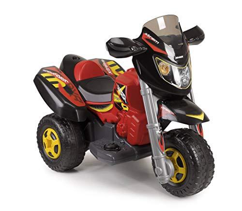 FEBER- Trimoto Eléctrica Infantil Red Racer 6 V, (Famosa 800012227)
