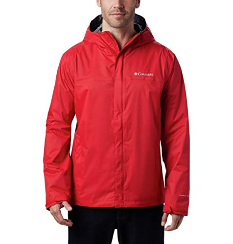Columbia Men's Watertight II Jacket, Mountain Red, Small