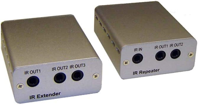 Max 44% OFF IR Remote Over Cat5 Cat6 Extender Kit Repeater + overseas