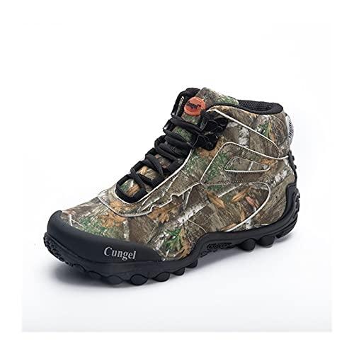 GKXAZ Combatir Las Nuevas Camo Tactical Boots Hombres Impermeable táctico Militar Cargadores al Aire Libre Que emigran los Zapatos Zapatillas de Deporte Hombre de excursión la Caza Botas