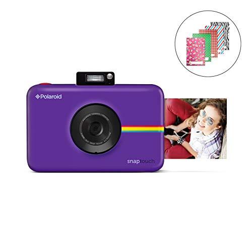 Polaroid-Schnappschuss-Sofortdruck-Digitalkamera mit LCD-Display (Lila) mit Zink Zero Ink Drucktechnologie