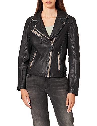 Gipsy PGG LULV Frauen Lederjacke schwarz S 100% Leder Basics, Rockwear, Steampunk