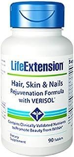 Hair Skin Nails Rejuvenation Formula with Verisol 90 Tablets 2 Bottles