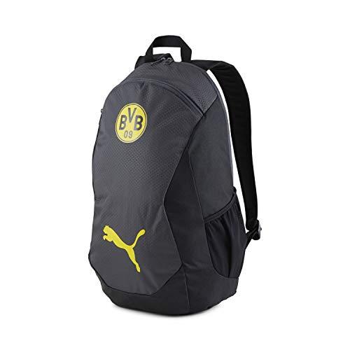 PUMA Borussia Dortmund Rucksack BVB Final Backpack 077211 Asphalt-Cyber Yellow One Size