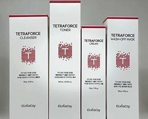 Elishacoy Tetraforce Special Set | Korean Skincare for Sensitive Skin | Organic | Anti-Acne| Antioxidant| Soothing