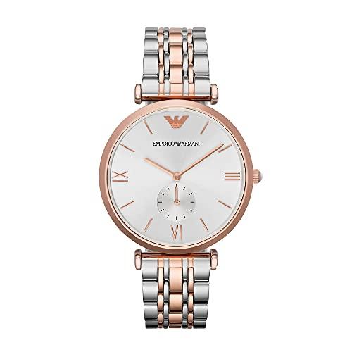 4a407b19975 Check price Emporio Armani Retro AR1677 Rose Watch - Salome Galligan