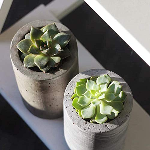 Moulle Quatre Trous Silicone Pot De Fleur Moules Porte-Stylo Moules Béton Silicone Moule Silicone Conteneur Silicone Mould-In Clay Molds