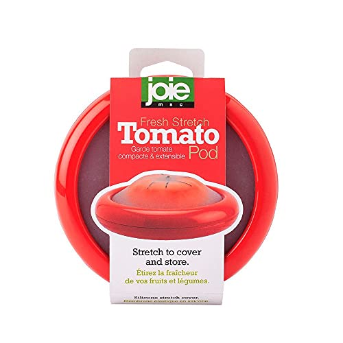 MSC International Joie Fresh Stretch Pod for Tomatoes, LFGB Approved, One Size, Red