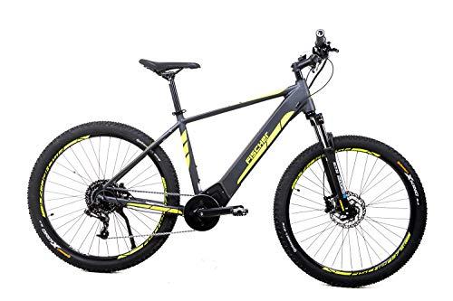 27,5 Zoll Fischer Herren Elektro Fahrrad E-Bike Pedelec MTB Sram GX 10 Gang 36V schiefergrau matt