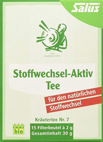 Salus Stoffwechsel-Aktiv Tee, 6er Pack (6 x 30 g)