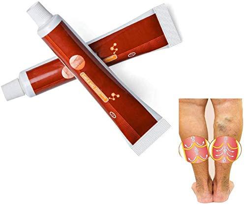 LUMITINP Varizen Miracle Creme, Besenreiser-Pflegecreme Pure Natural Ingredients Pflege Dredge Blutgefäße im 2er-Pack