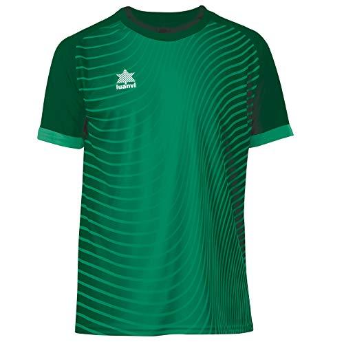 Luanvi Rio Camiseta de Fútbol, Hombre, Verde, XL