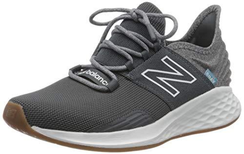 New Balance mens Fresh Foam Roav V1 Sneaker, Lead/Light Alluminum, 10.5 US