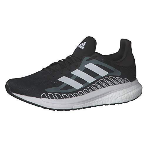 adidas Solar Glide ST 3 M, Zapatillas de Running Hombre, NEGBÁS/FTWBLA/OXIAZU, 39 1/3 EU