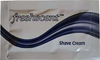Freshscent Shave Cream (packet) (case of 1000)