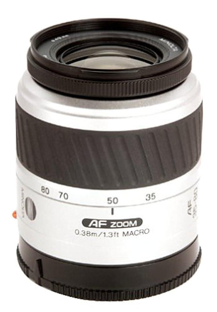 Factory Reconditioned Minolta Maxxum AF 35-80mm f4-5.6 II Silver Zoom