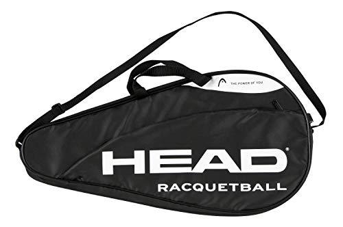 HEAD Unisex-Erwachsene FBA_285022 Racquetball Tasche, schwarz, Pack of 1