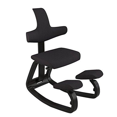 Varier 125021Thatsit silla mesa para tejido negro 56x 92x 103cm