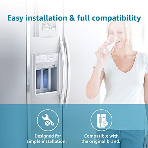 3 Pack Waterdrop UKF8001 Fits for PUR, Jenn-Air, Maytag UKF8001, UKF8001AXX, UKF8001P, EDR4RXD1, Whirlpool 4396395, Puriclean II, 469006 Refrigerator Water Filter