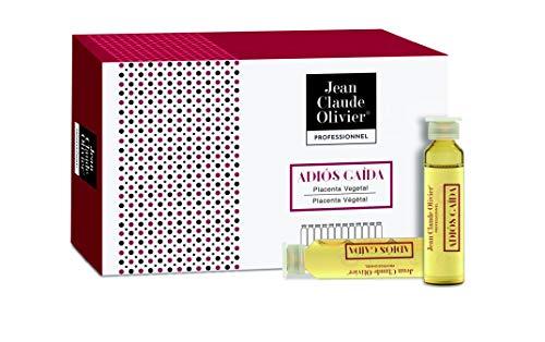 Jean Claude Olivier | Ampollas Anticaida con Placenta Vegetal - 12 Ampollas x 9 Ml