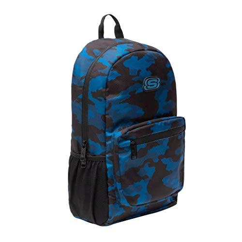 Skechers Classic Daypack mit Laptopfach innen, Schwarz Camouflage (Schwarz) - A2487_SC_BLK