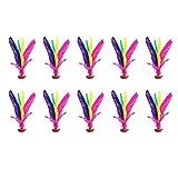 Kick Shuttle Chinese Colorful Jianzi Foot Juego de Patadas al...