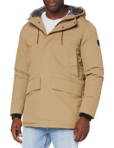 Jack & Jones Jprblaink Parka Jacket Chaqueta, Lead Gray, XL para Hombre
