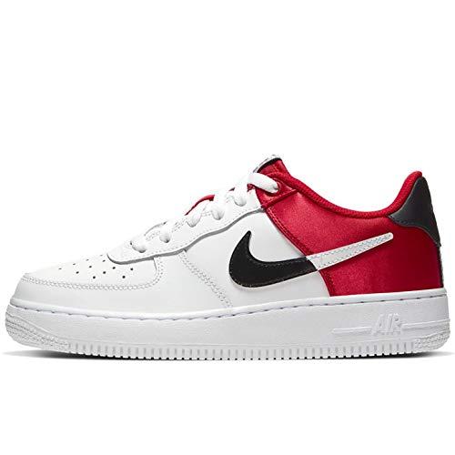 Nike Air Force 1 LV8 (GS), Scarpe da Basket Bambini e Ragazzi, Rosso (University Red/White/Black/White 600), 38.5 EU