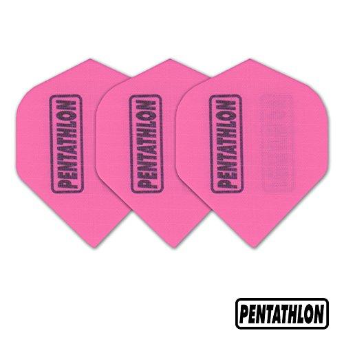 Original 9 Pentathlon Nylon / Stoff Dartflights Flys-Pink ,TA255