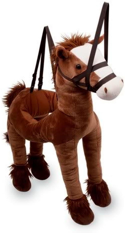 Soft Toy Strapon and Stepinto Wraparound Hobby Horse Pony