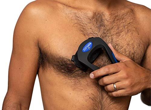 baKblade Grooming Co. - BODblade - Rasoio ergonomico per la rasatura del torace, delle braccia e della regione dello stomaco