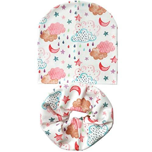Nieuwe herfst winter katoen kindermuts set baby ring sjaal jongen halsdoek kinderen beanie sjaal muts scullies hoed sportzylinder
