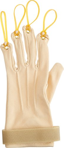Sammons Preston - 63788 Traction Exercise Glove, Hand and Finger Strengthening Glove for Joint Flexion, Hand Exerciser for Therapy, Recovery, and Rehabilitation, Left, Small/Medium