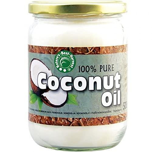 Aceite de Coco 100% Puro - 500 ml de Aceite Virgen Extra...