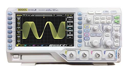 RIGOL デジタルオシロスコープ DS1054Z 50MHz 4ch 1GSa/s 【国内正規品】 3年間保証付き
