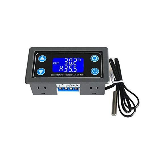 LanGuShi LGJ313 Termostato Digital Alturas Precisión Pantalla Digital Controlador de Temperatura Calefacción de refrigeración Multifunción